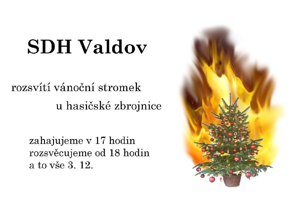 Rozsvěcení vánočního stromku bude 3.12.2017 od 17 hodin
