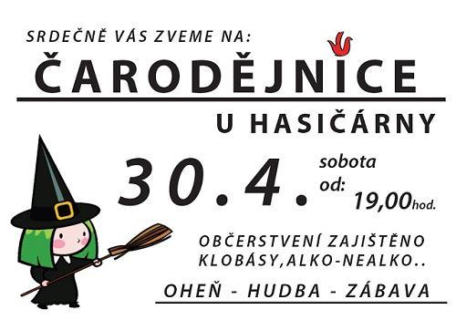 Pozvánka na čarodějnice 2011 ve Valdově.