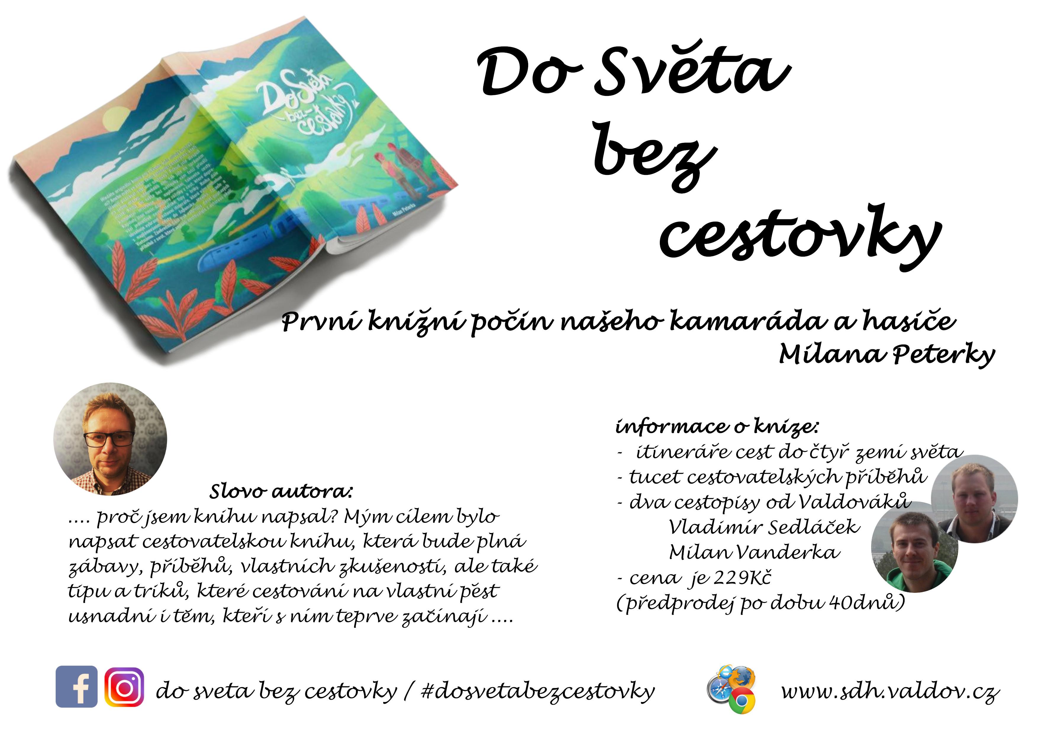 Plakát knihy - Do světa bez cestovky