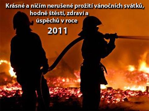 Krásné a ničím nerušené prožití vánočních svátků, hodně štěstí, zdraví a úspěchů v roce 2011.