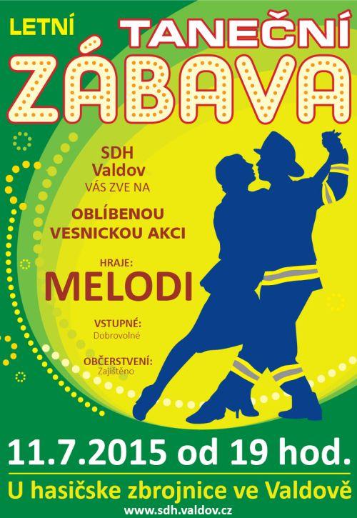 Letní taneční zábava ve Valdově