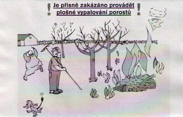 Zákaz plošného vypalování porostů