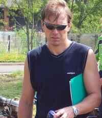 Člen výboru sboru SDH Valdov Ladislav Beneš