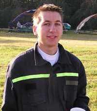 Strojník sboru dobrovolných hasičů Miroslav Roubal