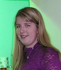 Členka sboru SDH Valdov Veronika Roubalová
