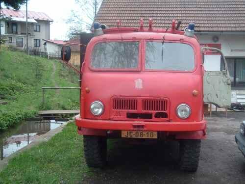 Vybavení SDH Valdov - Tatra T805