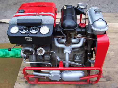 Vybavení SDH Valdov - Stroj PS12