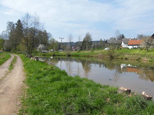 Dolní rybník ve Valdově