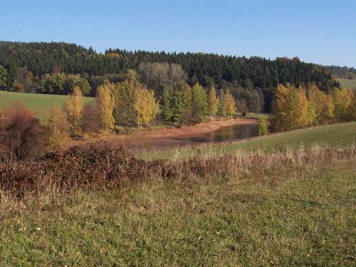 Horní rybník ve Valdově